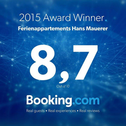 Приз Booking.com Hans Mauerer